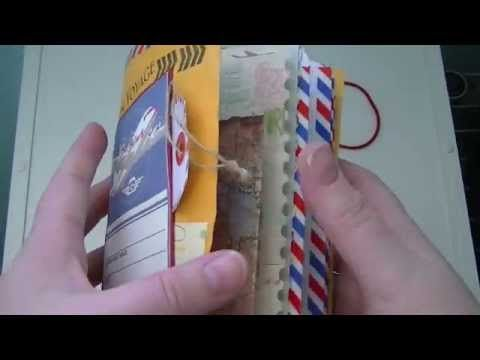 ▶ 6x9 Envelope Travel Junk Journal. - YouTube