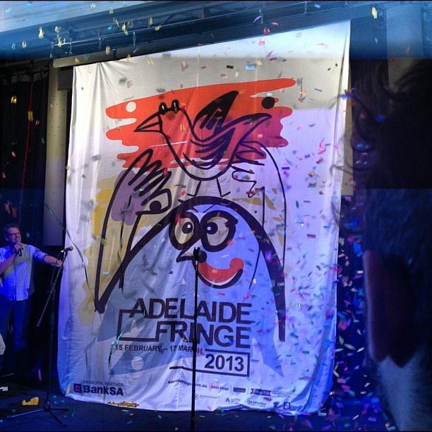 "@georgipaech's photo: ""Ta da!! #adlfringe poster launched!!"""