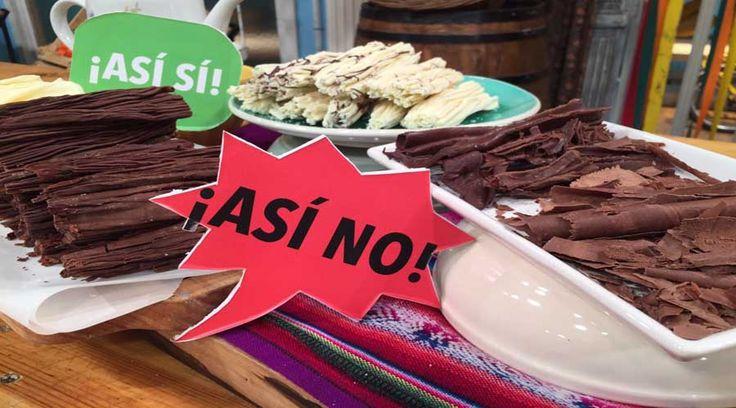 Los sí y los no del chocolate en rama por Roberto Goni