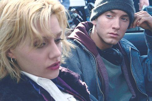 "Eminem and Brittany Murphy in ""8 Mile"" (2002)"