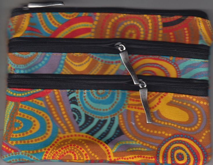 Jijaka 3Z Cosmetic Bag Firestones Artist: Code: JI-COS-3Z-5 Price: $14.00 or 2 for $26.00