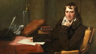 Painting of Humphry Davy