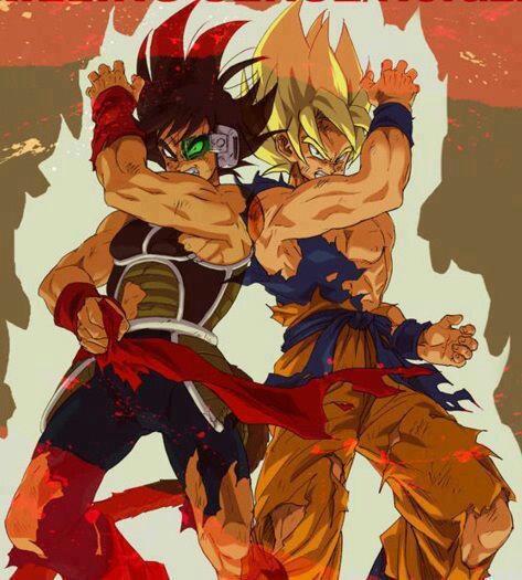 Goku y padre