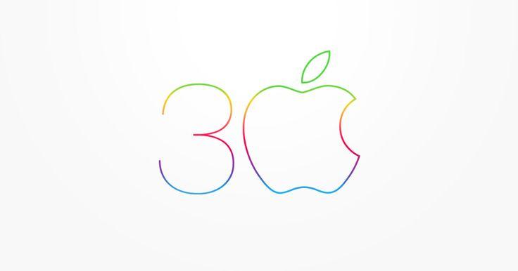 Mac 30 Anniversary.