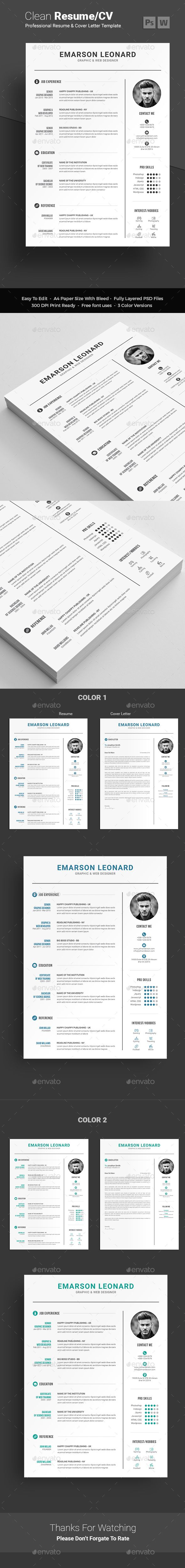 #Resume - Resumes Stationery Download here: https://graphicriver.net/item/resume/19364486?ref=alena994