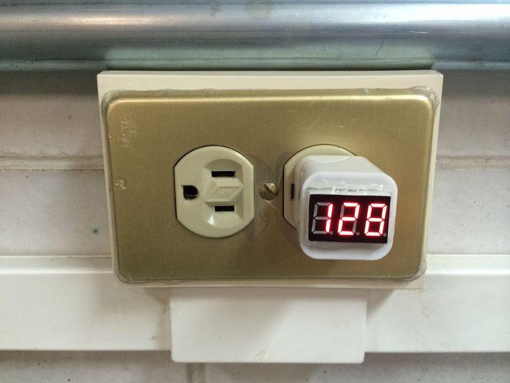 iVoltimeter - Un monitor de voltaje de la red eléctrica.
