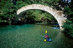 VISIT GREECE, Rafting in Voidomatis river, Epirus Region!  The most charming #season of the year is here! The #Greek countryside is waiting to reveal its secrets! Autumn, with golden brown foliage and mild temperature is the ideal time to visit #Greece, if you are looking to experience the culture, local life, unique natural environments and sports!