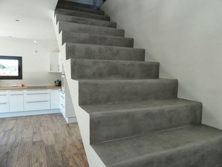 17 b sta id er om escalier en beton p pinterest escalier ext rieur b ton - Escalier en beton cire prix ...