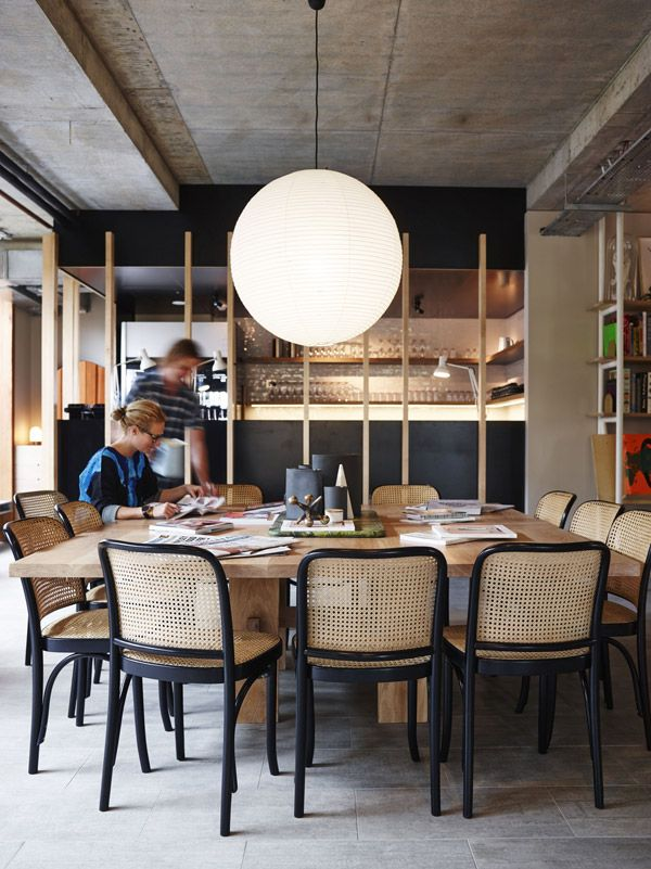 25 best ideas about Communal Table on PinterestCoworking space