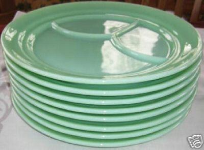 Fire King Glassware of the Jadeite Persuasion! - I Antique Online