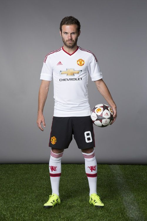 New Manchester United away kit: Juan Mata.
