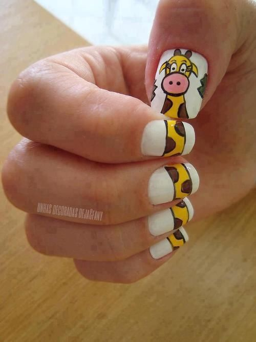 Giraffe Nails Pictures, Photos, and Images for Facebook, Tumblr, Pinterest, and Twitter