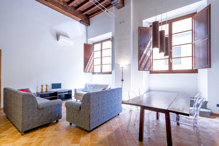 The Living room, suitable for 6 people with modern furnishing.