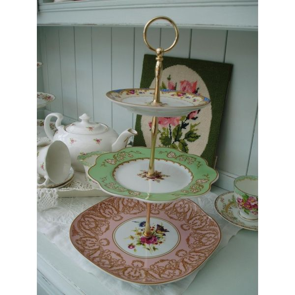 Tier Cake Afternoon Tea Shop Room Hotel Plate Stands