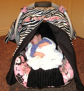 Car seat cover canopy (the PERFECT one)