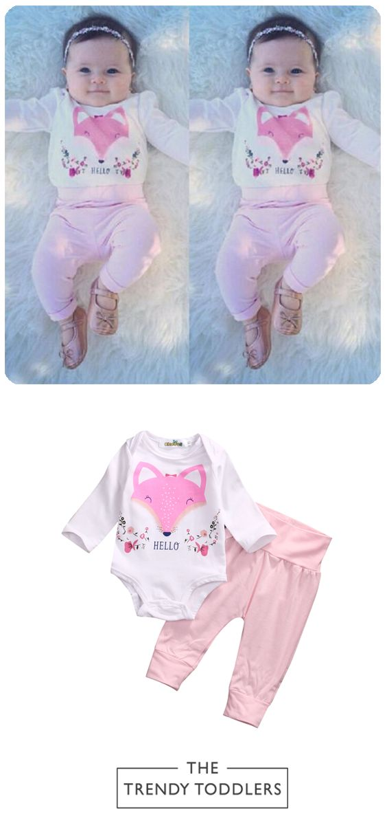 FREE SHIPPING! SHOP Our Baby Girl Fox Set