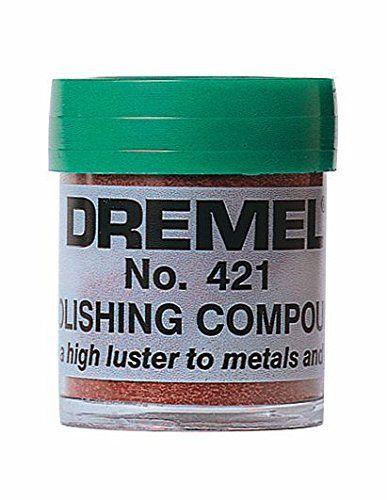 Dremel 421 Pate de polissage 421: Price:1.99 Idéal pour le polissage du plastique et des métaux. Associer la pâte a polir N° 421 aux…