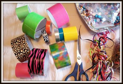 20+ Kids Duct Tape Crafts