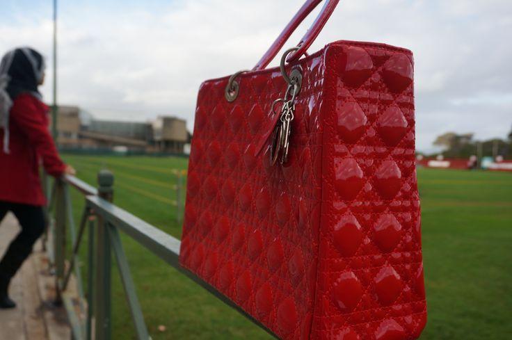Dior Bag - Patent Lady