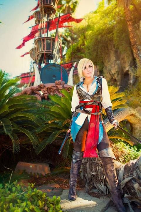 Jessica Nigri Fan Page Assassins Creed 4: BLACK FLAG