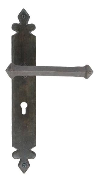 Blacksmith Beeswax Tudor Lever Door Handle