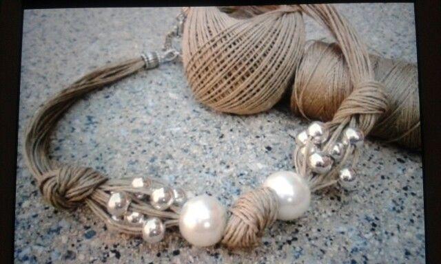 Photo of bracelet craft from Martina Sturman.