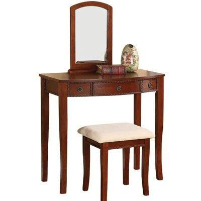 Meja rias murah kayu jati