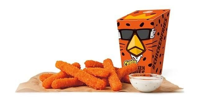 COMMENTARY: Our testers don't report much Cheetos flavor. And they also report that regular chicken nuggets at Burger King are MUCH cheaper.