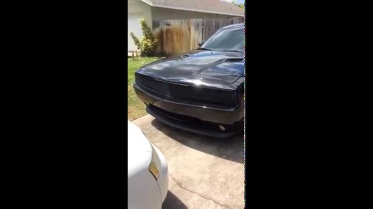 News about DODGE Challenger With Dodge Challenger Grille – Dodge Challenger blacked out with resonator delete, phantom grille and other mods! From Loving 76460 TX.   This is my baby, 2013 challenger rt blacked out with a resonator delete. I have placed the phantom grille on the front with...