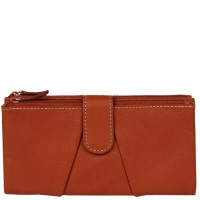 Wilsons Leather Rio Heather Zip Around Leather Wallet #WLDreamFallWardrobe @wilsonsleather1