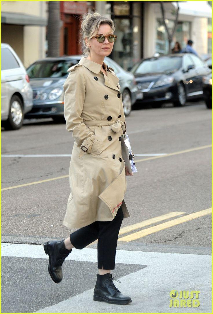 Renee Zellweger: 'Bridget Jones's Baby' Finds New Director?   renee zellweger trench 03 - Photo