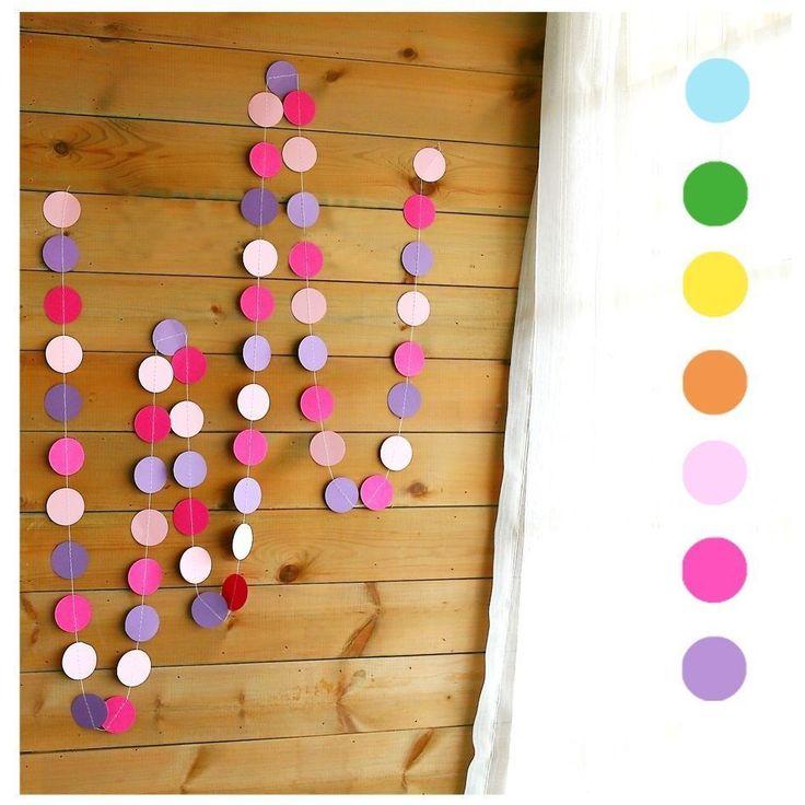 Веселая бумажная гирлянда, для декорирования помещений на праздники, свадьбы, вечеринки.купить в магазине Aisiteru AnnнаAliExpress