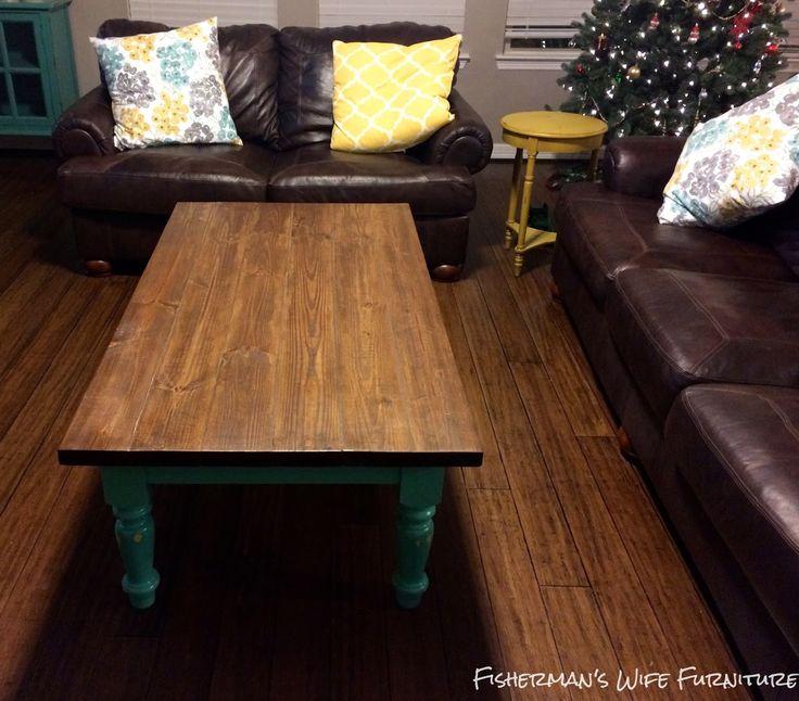 Rustic Farmhouse Coffee Table farmhousetable coffeetable