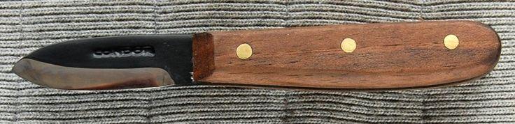 Condor 236HC Bushcraft Basic Knife, 2 Inch HC Blade, Walnut Handle, Black Leather Sheath.  http://www.osograndeknives.com/store/catalog/fixed-blade-hunting-knives/condor-236hc-bushcraft-basic-knife-2-inch-hc-blade-walnut-handle-black-leather-sheath-14562.html
