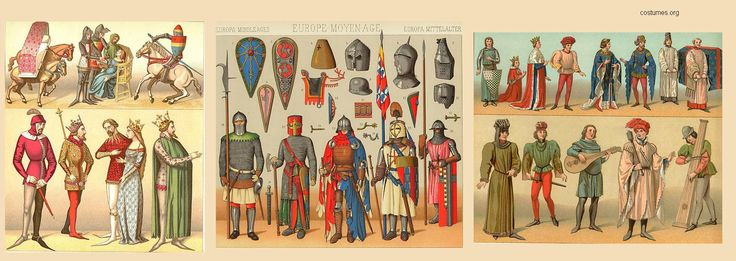 costumes-europa-medieval