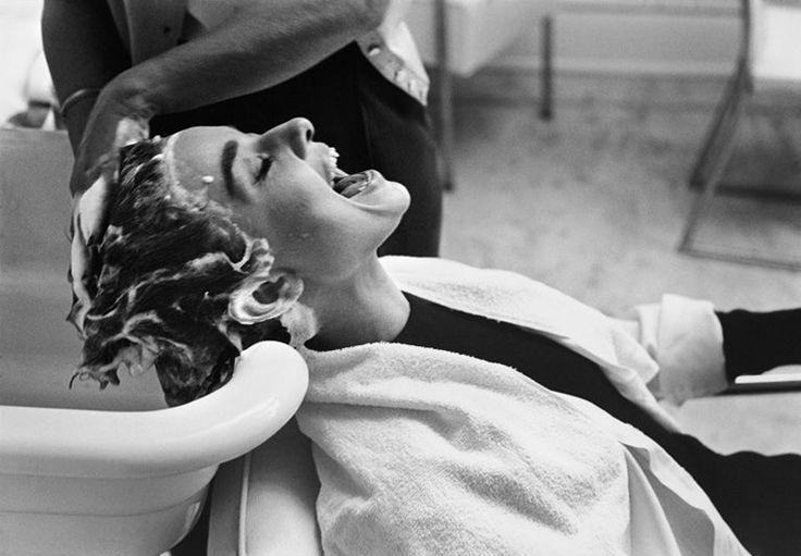 Audrey Hepburn by Mark Shaw, 1953.