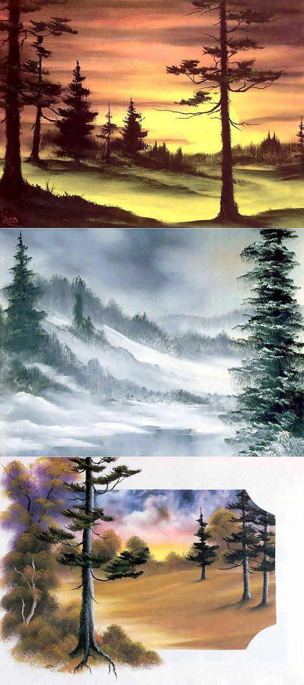 Боб Росс (англ. Robert Norman Ross) — американский живописец. Обсуждение на LiveIn | Искусство: живопись