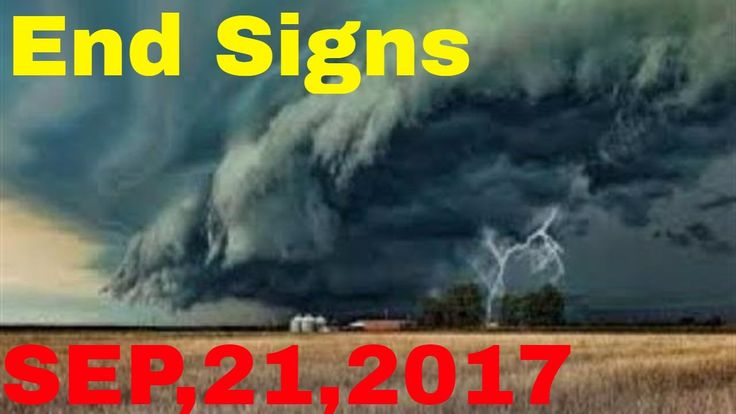 END TIMES SIGNS: LATEST EVENTS AND NEWS (SEP 21, 2017) EARTHQUAKES, HURR...