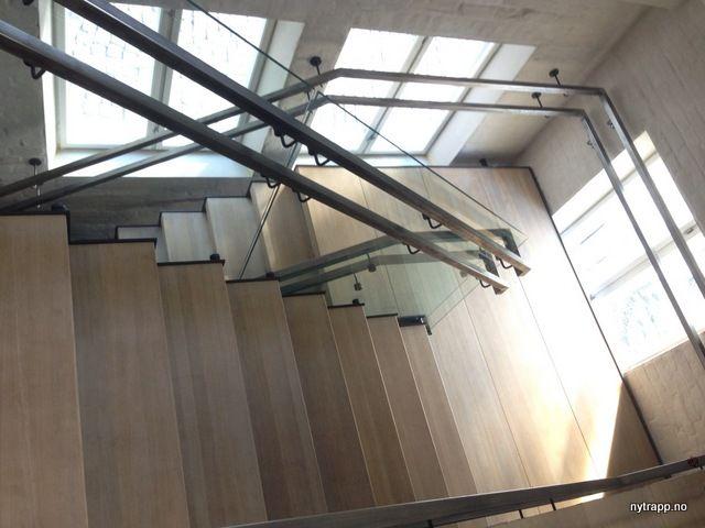 Restaurant Festningen | ovatrol glass stair