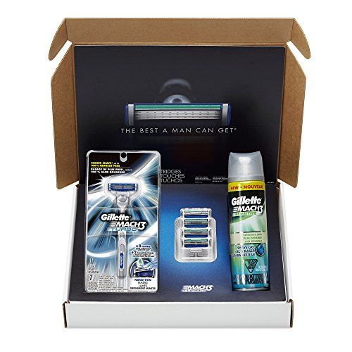 #helpinghand Subscribe to this shaving kit for men and never run out of shaving supplies again. It's easy to have #Gillette razor blades delivered to your door: ...