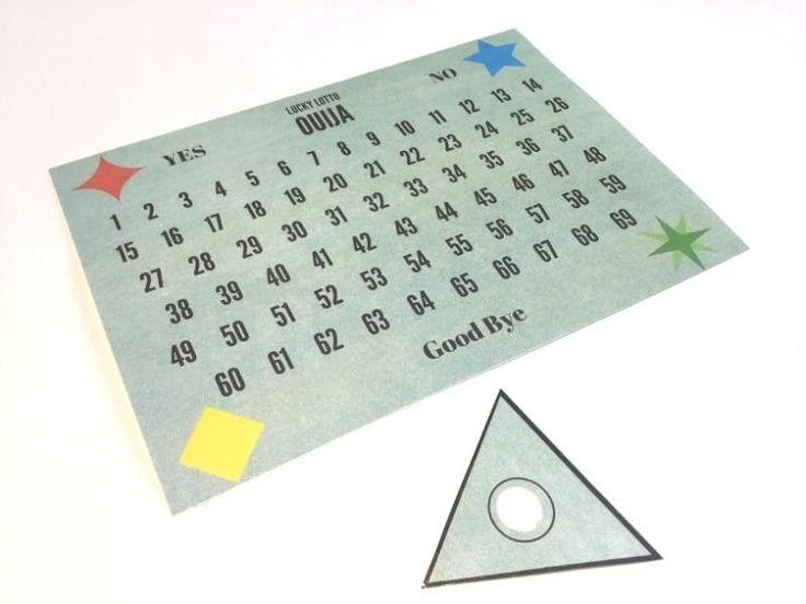 Ouija Board Lucky Lotto Number Picker | eBay