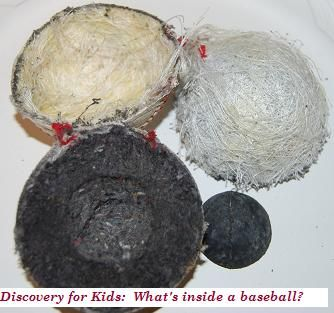 What's Inside a Baseball? -  Discovery for Kids!