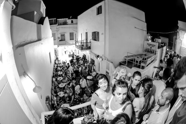 The View From The Dancefloor Balcony #mykonos #mykonos-nightlife #mykonos-bar #mykonos-2017