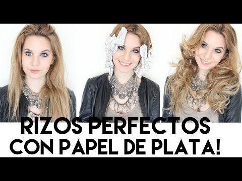 RIZOS con PAPEL DE ALUMINIO!! increibles!!! | Vikguirao - YouTube