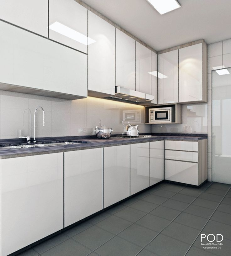 Macys Furniture Outlet Denver: Kitchen, Modern, POD Design Pte Ltd, Simple Design Of L