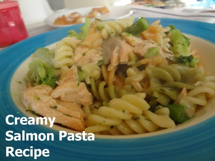 Slimming World Creamy Salmon Pasta Recipe