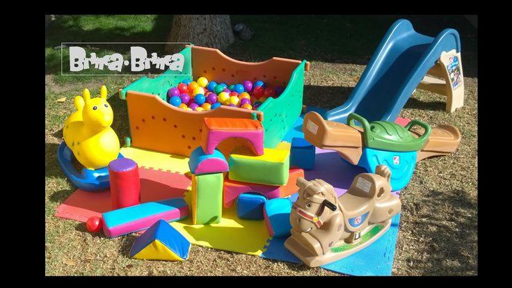 Plaza de juego para cumpleaños de niños