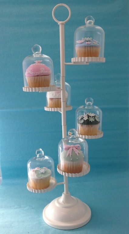 Six Individual Dome Cupcake Stand http://www.windsorcakecraft.co.uk