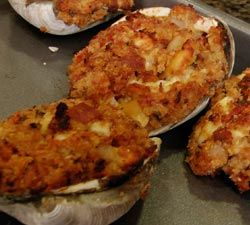 12 best stuffed clams images on pinterest seafood recipes seafood easy italian clam casino recipe these guys wont last long always a crowd favorite forumfinder Choice Image