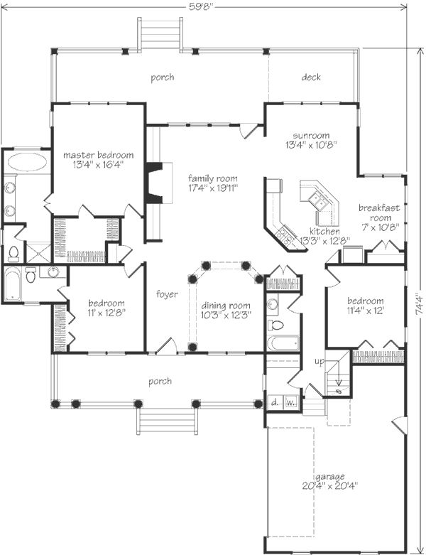 Southern living juniper house plan